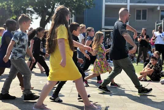 afsluiting schooljaar basisschool