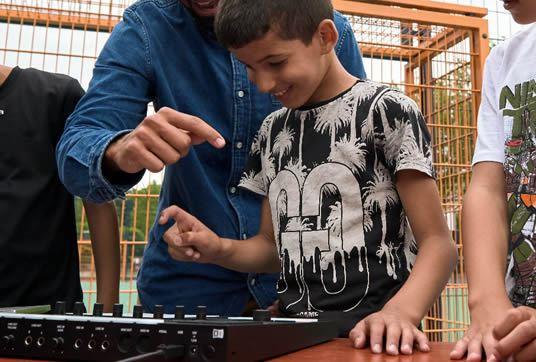 digital beat making ckv cultuurdag-cultuureducatie